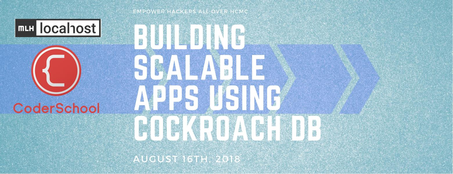 Building Scalable Apps Featuring CockroachDB   TicketBox