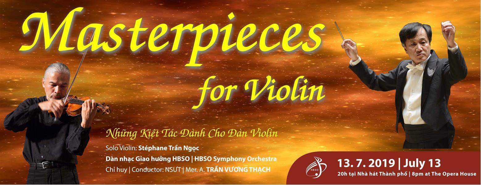 Image result for Chương trình hòa nhạc NHỮNG KIỆT TÁC DÀNH CHO ĐÀN VIOLIN