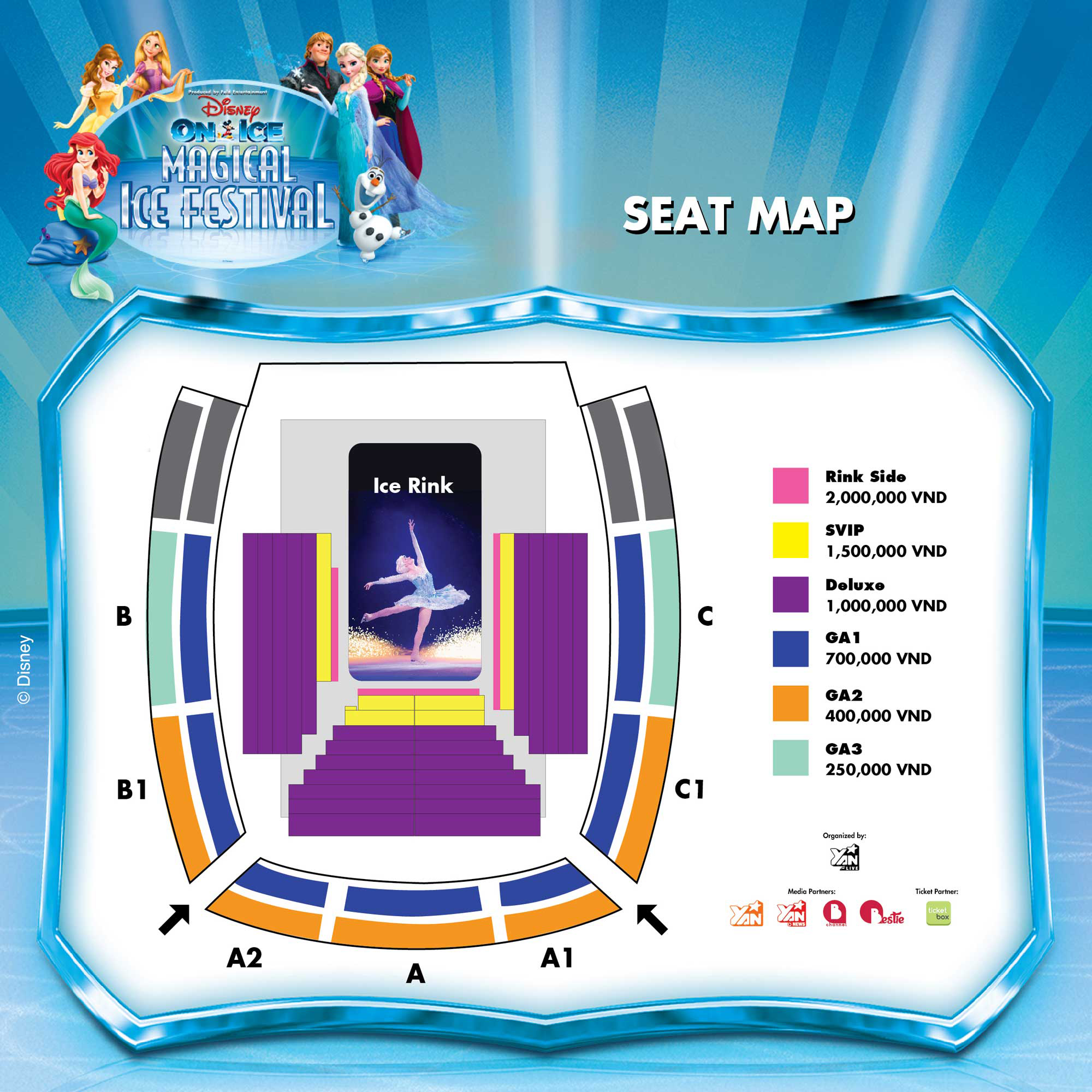 Disney On Ice presents Magical Ice Festival | Ticketbox.vn on